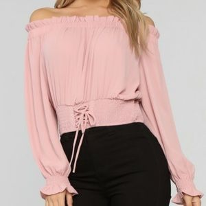 Fashion Nova Off the Shoulder Top